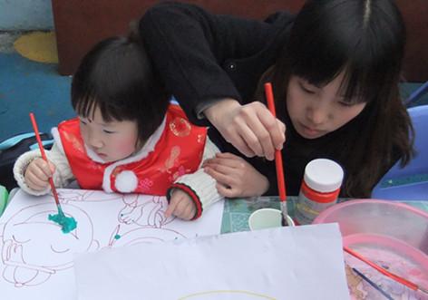 幼儿园民俗区域角布置图片